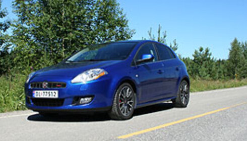 Fiat har hatt kraftig vekst - fra svært langt nede. Her: Fiat Bravo. Foto: Knut Moberg