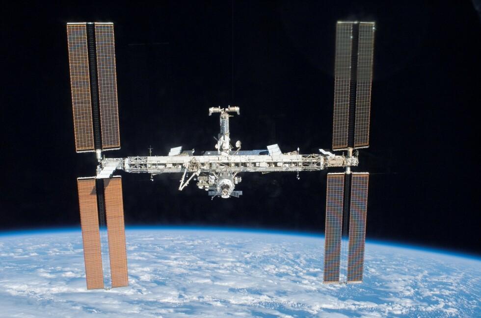 International Space Station er nok ikke noe vanlig hotellrom, men verdens dyreste er det nok - selv om det ligger utenfor verden.  Foto: wikipedia.com