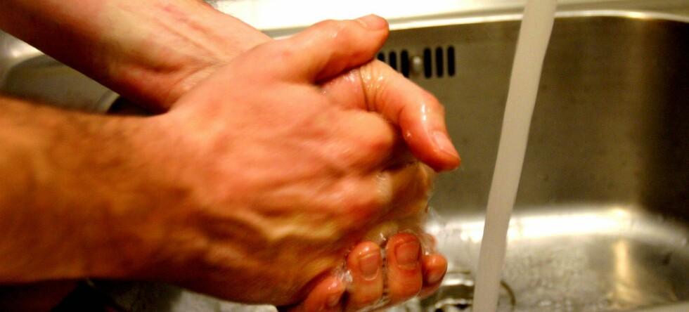 En god håndvask med såpe kan ifølge FN redde tusenvis hvert år.  Foto: colourbox.com