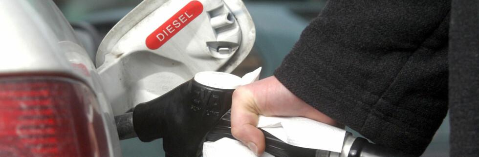 Nordmenn kjøper diesel som aldri før. Foto: coloubox.com