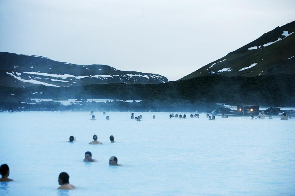 Blue Lagoon har åpent 10-20 om vinteren, og 8-21 om sommeren. Foto: Colourbox
