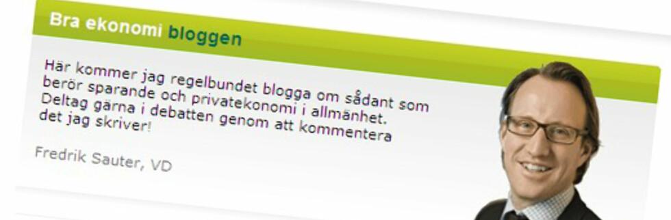 """""""Snakk med"""" banksjefen om finanskrisen. Flere banker er nå mer direkte til stede. Foto: Skandiabanken.se"""