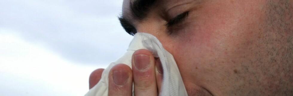 Mytene om influensa og forkjølelse er mange. Foto: Colourbox.com