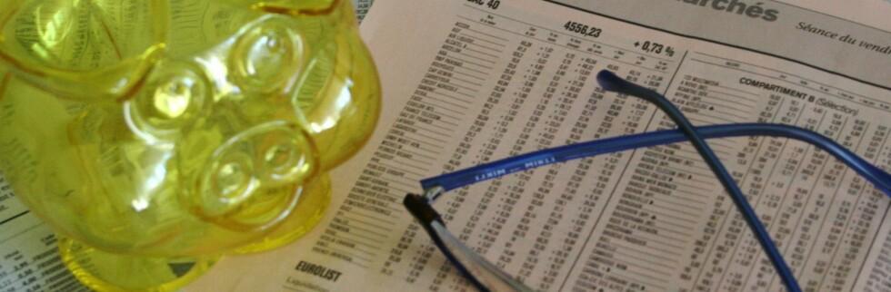 Skal du først spare i fond, gjelder det å velge riktig.    Foto: Colourbox.com