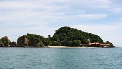 Gemia Island resort ligger på en egen øy. Foto: Stine Okkelmo