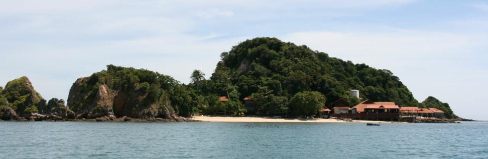 Gemia Island Resort har beliggenheten over alle - på en egen tropisk øy. Foto: Stine Okkelmo