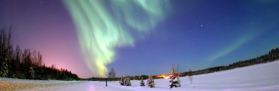 Nordlyset er et av naturens vakreste påfunn, eller hva? Foto: Senior Airman Joshua Strang/Un