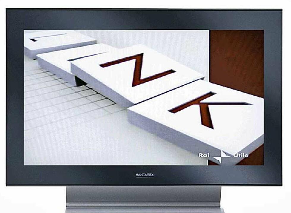Hantarex-TVene kommer i størrelser fra 42 til 70-tommer. De siste toppmodellene kommer også i børstet aluminium hvis du ønsker det.