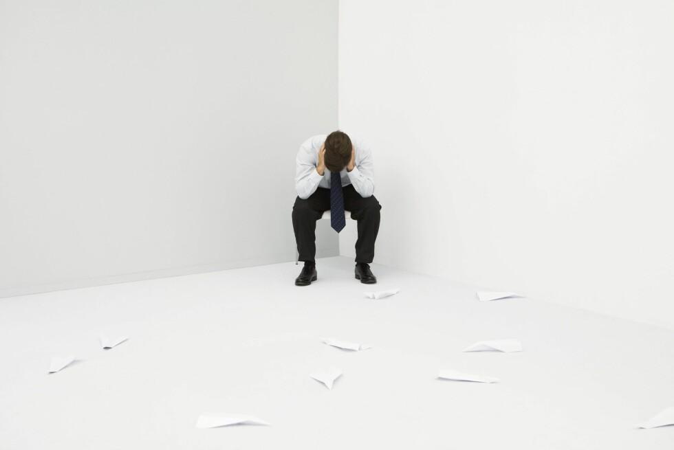Verdens helseorganisasjon frykter for folks mentale helse. Foto: Colourbox