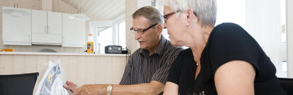 Hvor trygg er pensjonen din? Det avhenger av ordningen du har valgt. Foto: Colourbox.com