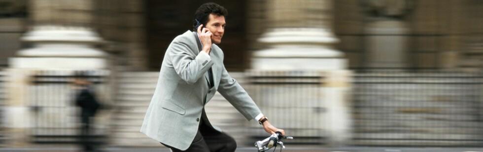 Det er store helsegevinster ved å sykle til jobb, viser ny studie.       Foto: colourbox.com