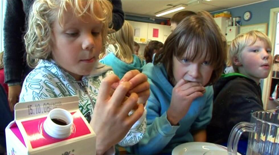 Eræringseksperter vil ha SFO-ansatte tilbake på skolebenken for å lære dem om barn og kosthold. Foto: Merete Korberg Dalsbø