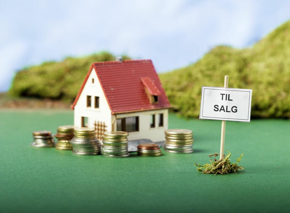 Nå får man faktisk kjøpt hus for småpenger Foto: Colourbox.com