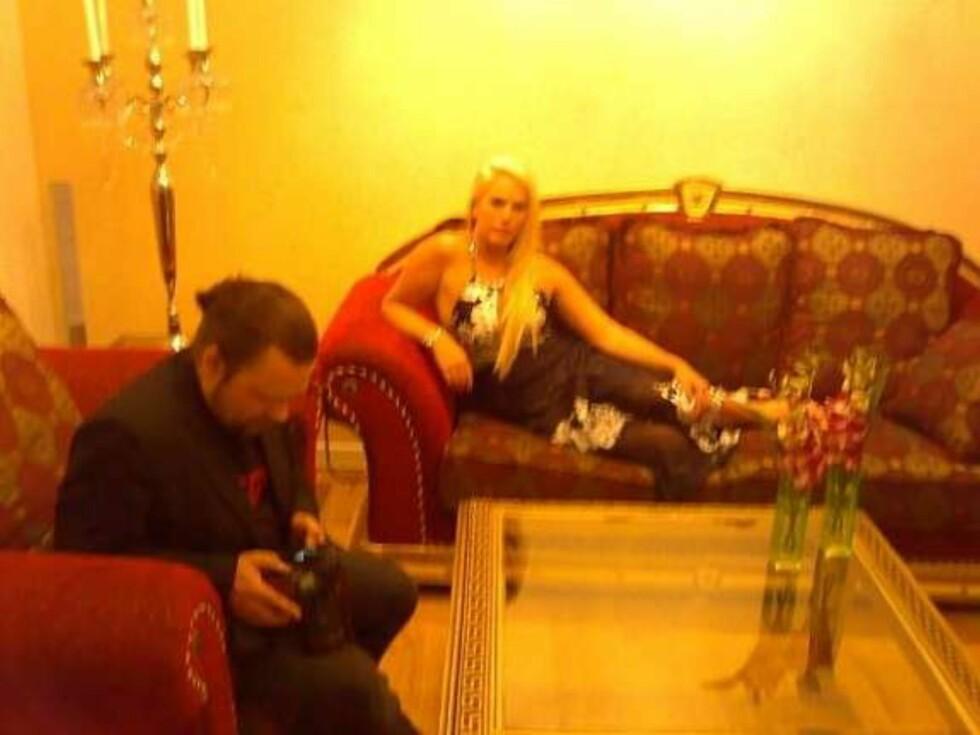Kona hadde lenket seg fast til sofaen, for den ville hun ikke selge. Foto: Faksimile: Finn.no