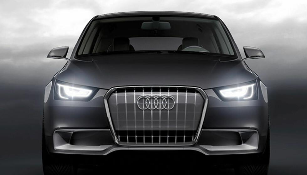 Store bilder av Audis lille hybridkonsept