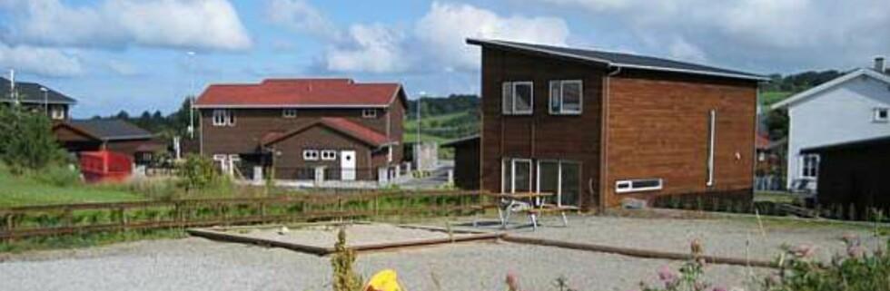 Ferdighusleverandøren har flere innflyttingsklare prosjekter til salgs, som dette på Bryne. Foto: Block Watne