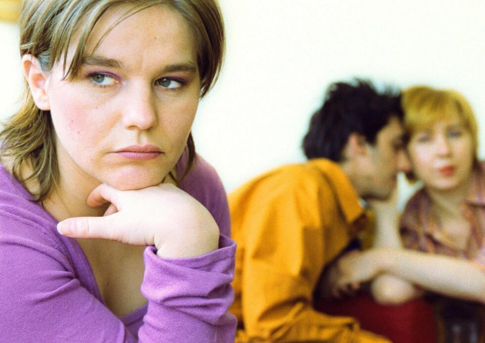Sexen og elskerinnens utseende er underordnet for den utro mannen - han vil bare verdsettes. Foto: Colourbox
