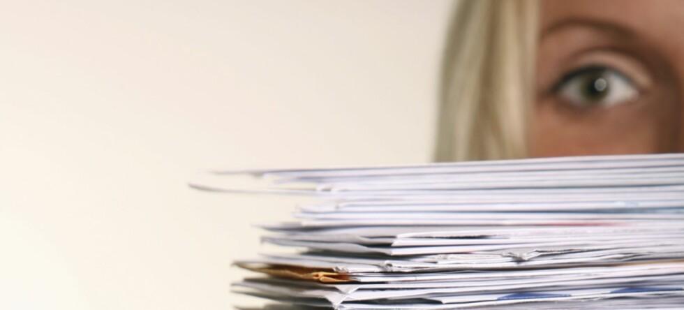 20 prosent av befolkningen har finansfobi-syndromet, mener Gjeldsofferalliansen. Foto: Istock