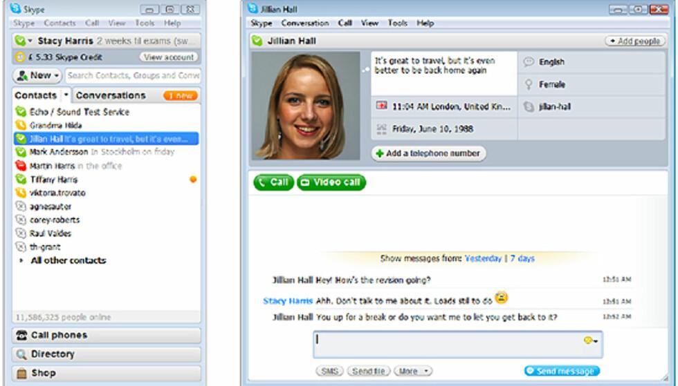 Skype 4 beta