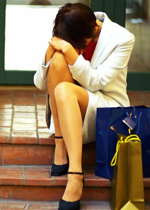 ...helt til kjøpeangeren treffer deg med full tyngde.  Foto: colourbox.com