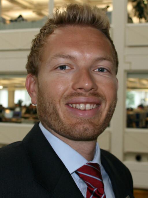 Thomas Sevang, informasjonssjef i Nordea.
