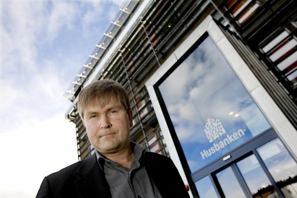 Flere vender seg til Husbanken når bankene begynner å stramme inn, ifølge Geir Barvik, administrerende direktør i Husbanken. Foto: Husbanken