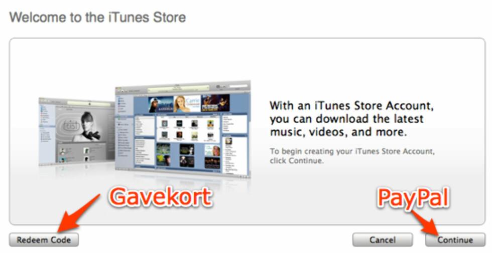 Slik bruker du amerikansk iTunes i Norge