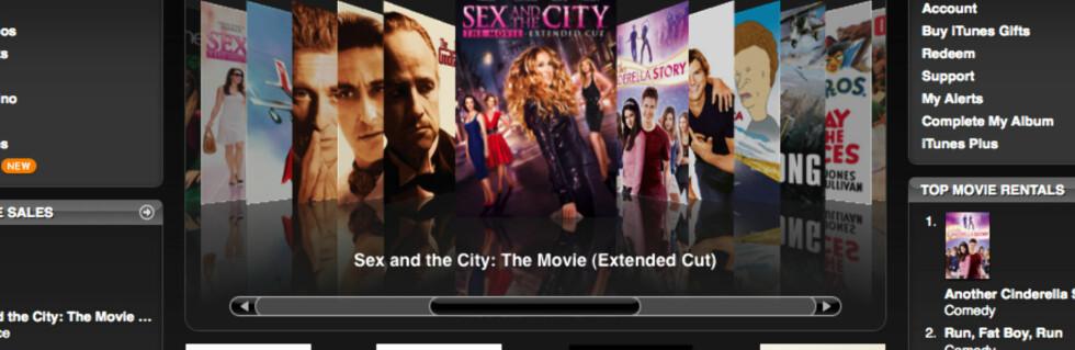Med denne oppskriften kan du leie filmer fra amerikansk iTunes.