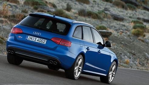 Store bilder av nye Audi S4