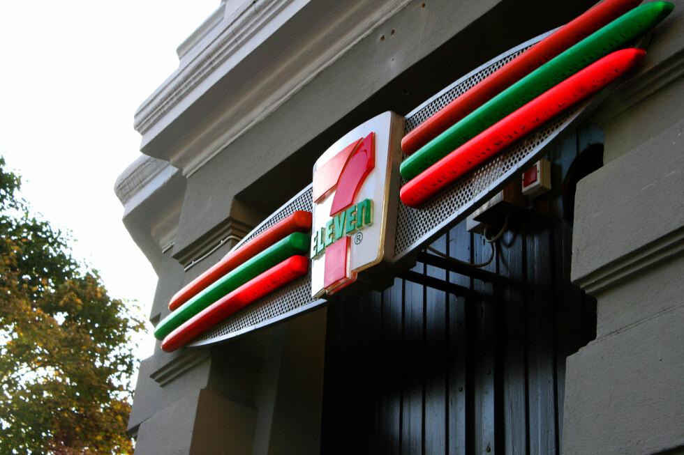 7-Eleven er bare en av kioskene som finnes nesten overalt i hovedstadens bykjerne. Foto: Kim Jansson
