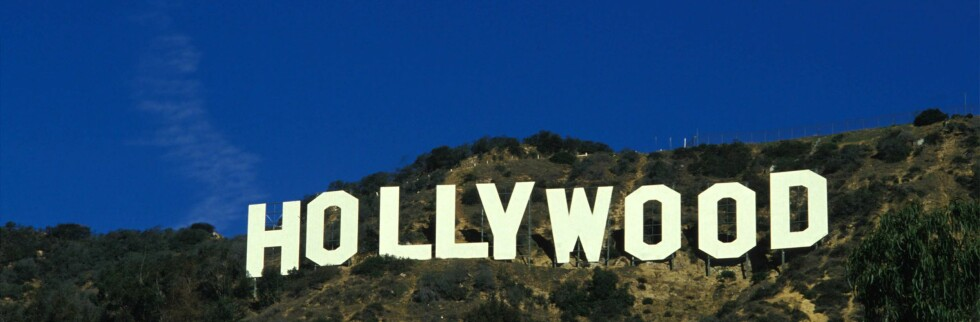 I Hollywood er himmelen alltid blå.  Foto: colourbox.com