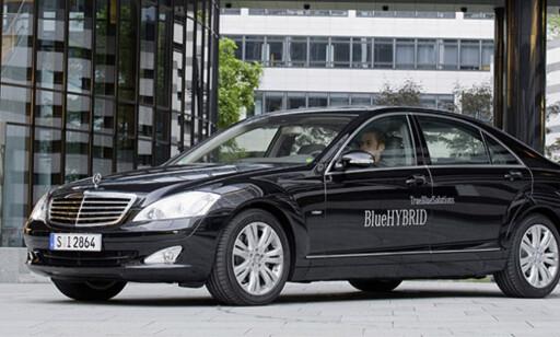 image: Store bilder av Mercedes' hybrid