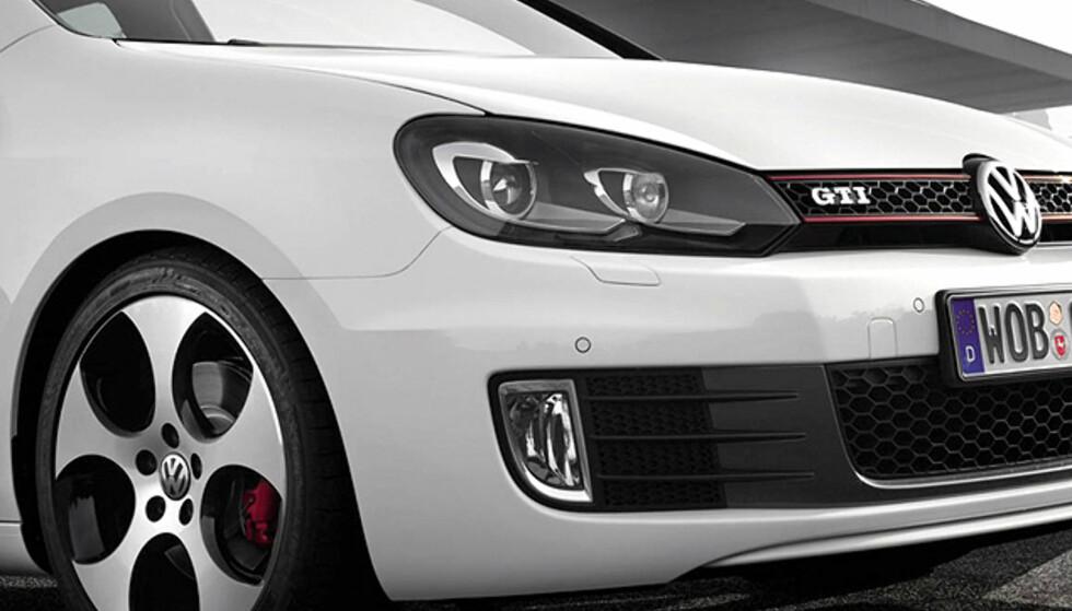 Store bilder: Ny Golf GTI