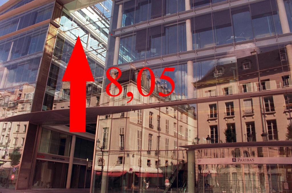 Glitnir Bank setter opp lånerenta til 8,05 prosent. Foto: colourbox.com