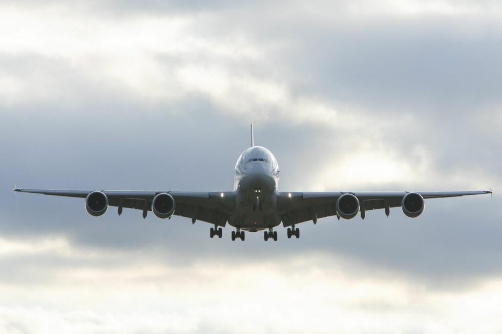 Det vil bli færre fly på himmelen fremover, spår Ryanair-sjef. Foto: Colourbox