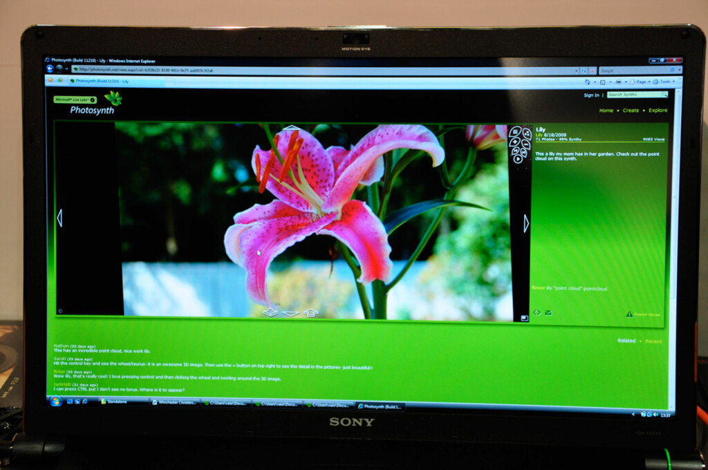 Slik ser Microsofts nye godbit ut. Foto: Pål Joakim Olsen