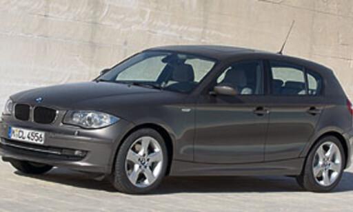 BMW 118d gjør det knallbra. Høy effekt og lite utslipp.