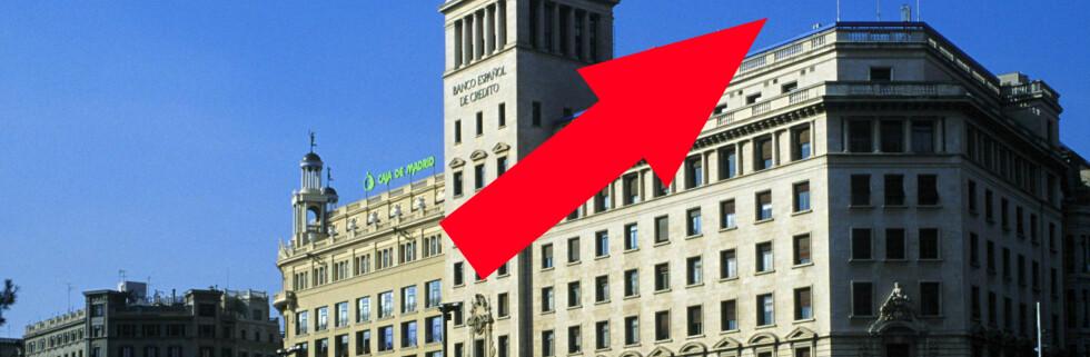 Bankene har allerede måttet sette opp renta. Det lover godt for dagens rentemøte. Foto: colourbox.com