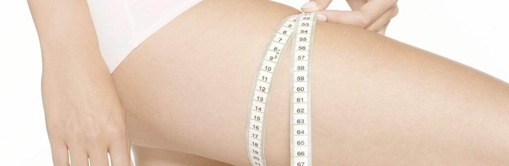 Vær forsiktig med slankeprodukter om du vil gå ned noen centimeter. Foto: Colourbox.com