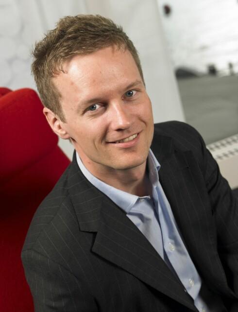 Makroøkonom i First Securities, Bjørn Roger Wilhelmsen. Foto: First Securities