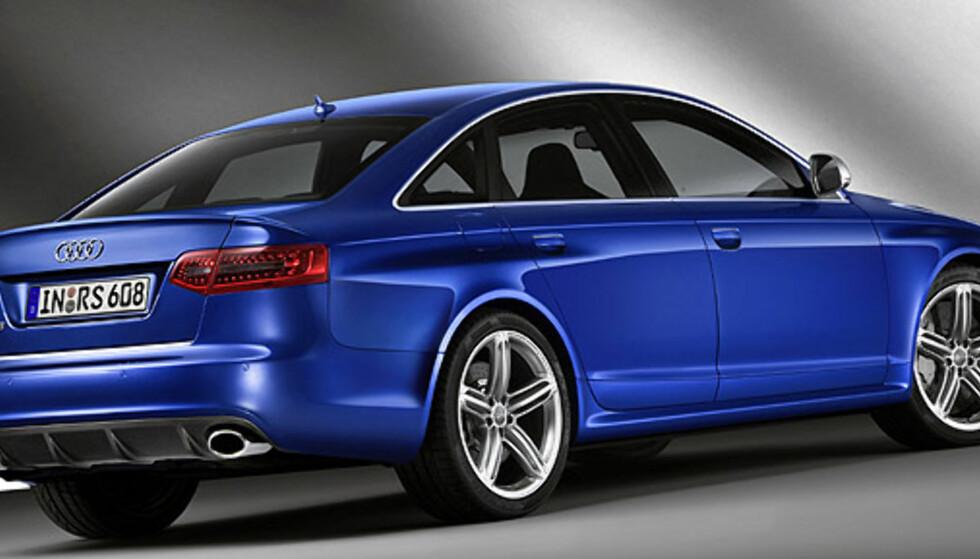 Store bilder: Audi RS6 sedan