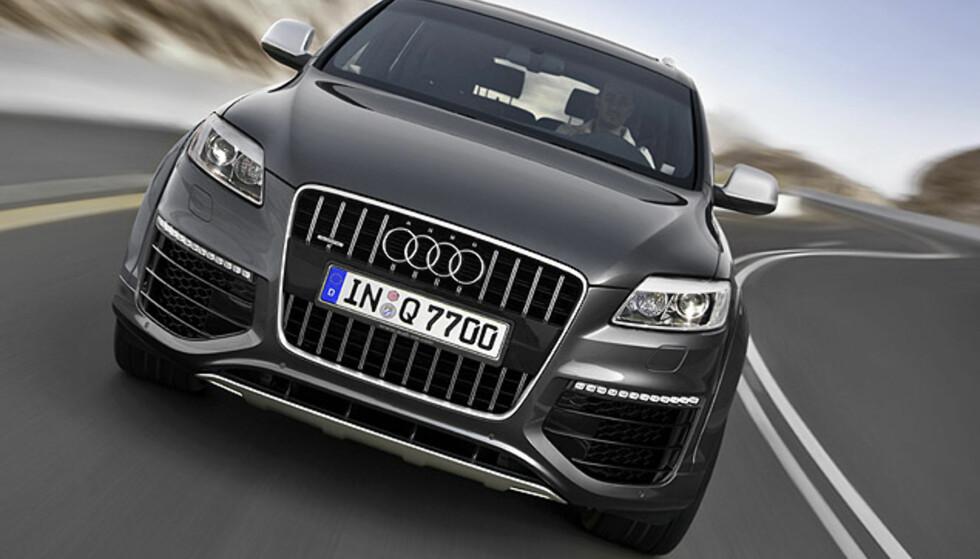 Audi Q7 V12 TDI: Store bilder