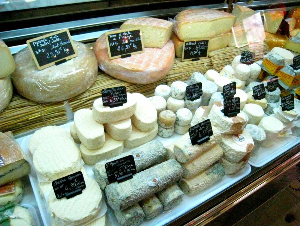 ... og masse, masse ost, så klart! Foto: Astrid Mannion