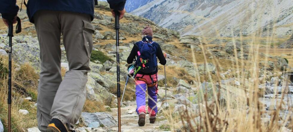 Skal du på fjelltur i høst og lurer på hvilken standard du kan forvente på DNTs turisthytter? Illustrasjonsfoto: Colourbox