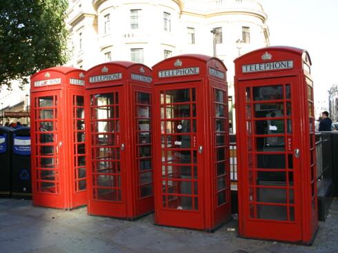 London er en klassiker for storbyturister. Foto: Stine Okkelmo