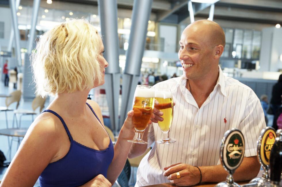 Ny forskning konkluderer med at øl kan svekke menns fruktbarhet.  Foto: Colourbox