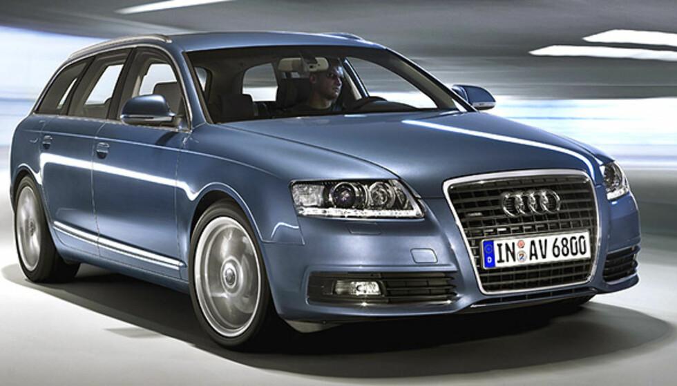 Audi A6 facelift: Store bilder