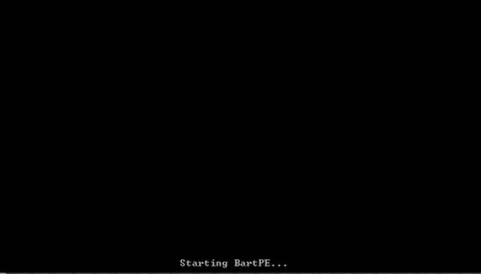 Får du frem denne skjermen når du starter PCen med CDen i drevet, har du gjort alt rett.