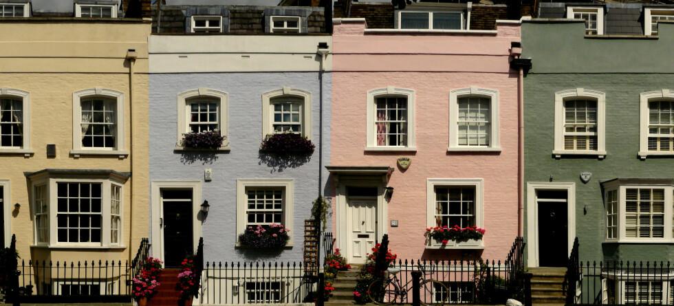 Helgen 19.-21. september kan du sniktitte på londoneres hus. her fra Chelsea. Foto: Roma Flowers