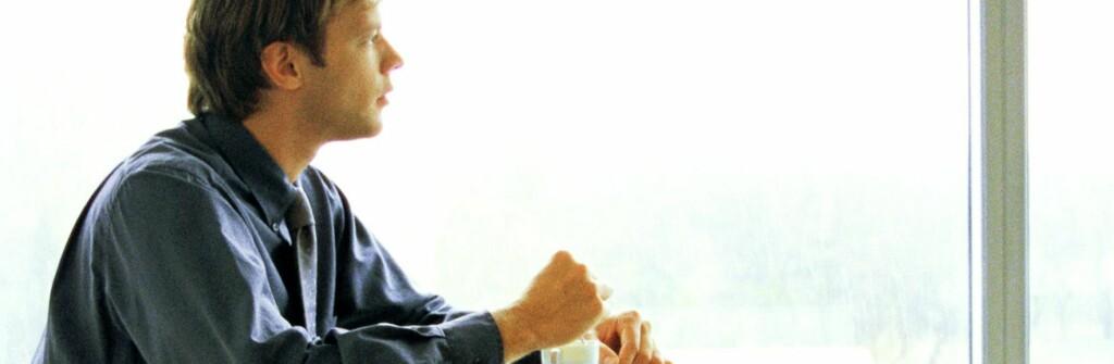 Ta det med ro og nyt kaffen. Vi overlever også denne krisen. Foto: colourbox.com
